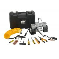 Wholesale DC12V Double Cyliner Metal Vehicle Air Compressor Kit with Tools in Box from china suppliers