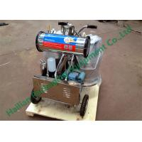 Wholesale Movable Electric Goat Milker Two Buckets , portable milking machine from china suppliers