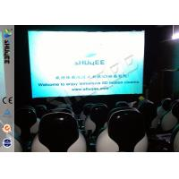 Wholesale Snow Effect 220V Mobile 5D Cinema System , Luxury 5D Mobile Seats from china suppliers
