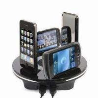Wholesale Multifunction Charger Station, Includes iPhone 3G/S, Nokia Mini and AC Cable from china suppliers