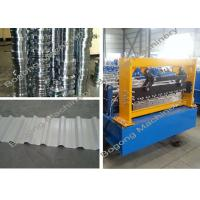 Wholesale Trapezoidal Aluminum Roof Sheet Panel Cold Roll Forming Machine from china suppliers