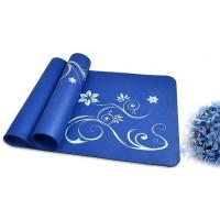 Wholesale 10mm Personalized Colorful ECO Yoga Mat Soft Blue Square for Bikram from china suppliers