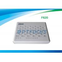 Wholesale F620 GPON ONU English Firmware 4 LAN Ports 2 POTS SIP DHCP for multiple from china suppliers
