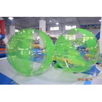 Wholesale Colored Inflatable Water Volleyball Ball / Walking Ball With Logo Printed from china suppliers