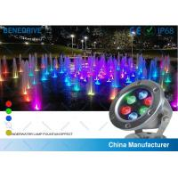 Quality 3W LED Underwater Decorative Lights , Waterpoof Pool Lights Life Span > 50000 Hours for sale