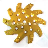 Wholesale 250mm PCD Plates For Floor Coating Removal from china suppliers
