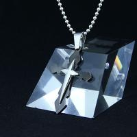 Wholesale Fashion Top Trendy Stainless Steel Cross Necklace Pendant LPC266 from china suppliers