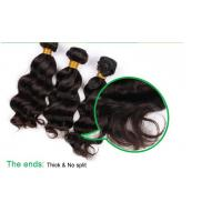 Quality 9A Peruvian Virgin Hair extension Deep Wave Human Hair Weaving for sale