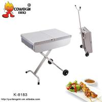 Wholesale Portable trolley charcoal bbq grill from china suppliers