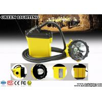 Quality Strong Brightness CREE LED Mining Lamp , Low Power Warning Mining Cap Lights for sale