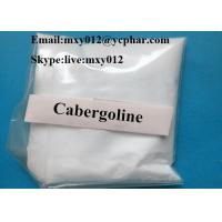 Wholesale 99% Purity CAS:81409-90-7 Muscle Building Steroids Cabergoline Dostinex Powder for Parkinson Treatment from china suppliers