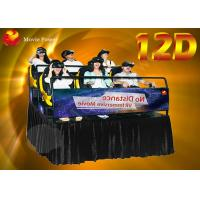 Wholesale Fashionable FHD 1080P 12D Cinema Theater With 6 DOF Electric Dynamic Platform from china suppliers