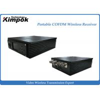 Wholesale Miniature COFDM Receiver 300-800MHz Portbale Wireless AV Receiver from china suppliers
