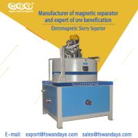 Wholesale Automatic Electro - Magnetic Separator Machine Field Strength 3T High Speed Kaolin Ceramic Slurry from china suppliers