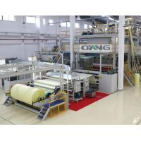 Wholesale Single Beam PP Non Woven Fabric Making Machine / Production Line high strength from china suppliers