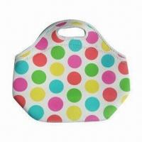 Wholesale Lunch tote, neoprene and elastic, waterproof from china suppliers