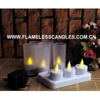 Wholesale Rechargeable Tealight / Votive, Rechargeable LED tealights, Set Of 6 from china suppliers