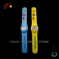 China watch factory customized child slap watch for promotion