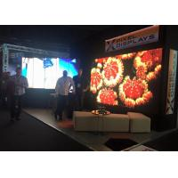 Quality RGB Flexible Led Curtain Display Indoor / SMD2121 Video Led Panel For Exhibition Show for sale