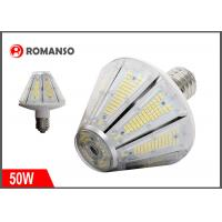 Wholesale 50W LED Corn Light Bulb 7500 Lumens 3000K Replacement for 250W Metal Halide Bulb , HID , CFL , HPS from china suppliers