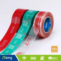 Wholesale 48mm x 66m BOPP Custom Design Logo Printed Packing Tape with Good Adhesion from china suppliers