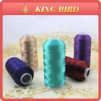 Wholesale 100% rayon viscose dyed Machine Embroidery Threads smooth 5000m from china suppliers
