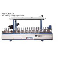 Wholesale cold glue profile wrapper machine from china suppliers
