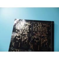 Quality Immersion Gold 8 Layer Pcb Prototype Service , Printed Circuit Board Pcb Multilayer Black Solder Mask for sale