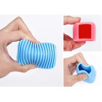 Quality silicone hand type Candy color housework clean mini laundry rub for sale