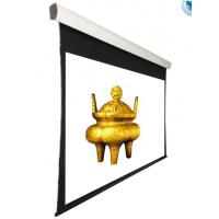 Wholesale 150''  Tensioned Ceiling Recessed Motorized Projection Screen With Remote Control from china suppliers