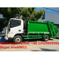 Buy cheap 2018s high quality China JAC brand 4*2 LHD diesel 5m3 garbage compactor truck for sale, refuse garbage truck for sale from wholesalers