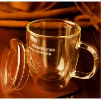 Wholesale Hand-Blown Double-Wall High Borosilicate Glass Mug from china suppliers