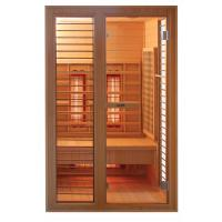 Wholesale 1person far-infrared  sauna room with shortwave and ceramic heater from china suppliers
