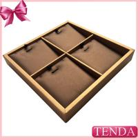 Wholesale High Quality Genuine Leather PU Jewellery Jewelry Pendant Trays for Jewellry Shop Store from china suppliers