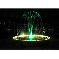 Wholesale Dia 5 Meters Color Changing Jumping Jet Fountain For Hotel / Restaurant Lobby from china suppliers