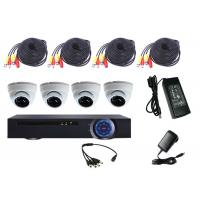 Wholesale Durable Cctv Surveillance Kit Dvr Cctv System , Dome Camera CCTV Kit Remote Monitoring from china suppliers