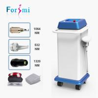 Wholesale Hot selling newest skin rejuvenation 1064nm 532nm 800w q-switch nd yag laser tattoo removal creams from china suppliers