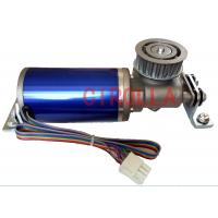 Quality 24V 75W  Blue Circular brushles  Glass sliding door motor Casing diameter 60.5mm for sale