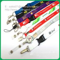 Polyester Office lanyard with detachable clip
