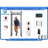Buy cheap Economic Walk Through Security Metal Detector For Multi-Zone Airport from wholesalers