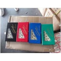 Quality Domino set, Material Melamine , Total 28pcs, double six, packaged in PVC box, Size:48x24x7mm, part:JYX-D1681 for sale