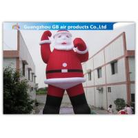 Wholesale Outdoor Large Blow Up Inflatable Santa Claus For Christmas Decorations from china suppliers