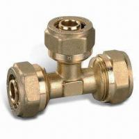 Wholesale Brass Tee for Pex Pipe, Light Weight, Convenient to Transport and Handle from china suppliers