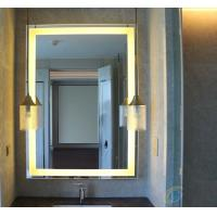 Wholesale LED mirror with lock UL IP44 standard, bath mirror with led from china suppliers