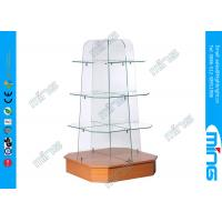 Wholesale Four shelves Tempered Glass Display Showcases , Shop Gondolas Shelving from china suppliers