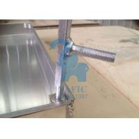 Wholesale Square Drain Grate Covers , Metal Driveway Drainage Grates 80mm Height from china suppliers