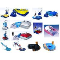 Wholesale Swimming Pool Robot Pool Cleaner with metal tolly and controller from china suppliers