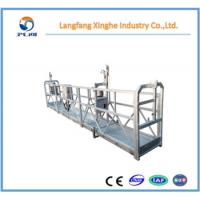 Buy cheap Xinghe manufacturer zlp suspended working platform / electric rope cradle / winch gondola motor for cleaning from wholesalers