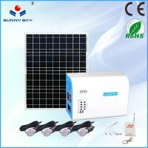 Quality stand alone home solar systems solar panel system solar power system home solar lighting system solar generator 220v por for sale