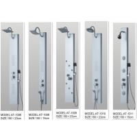 Wholesale Rainfall shower screen Shower Columns Panels Rectangle type 150 X 23 / cm from china suppliers